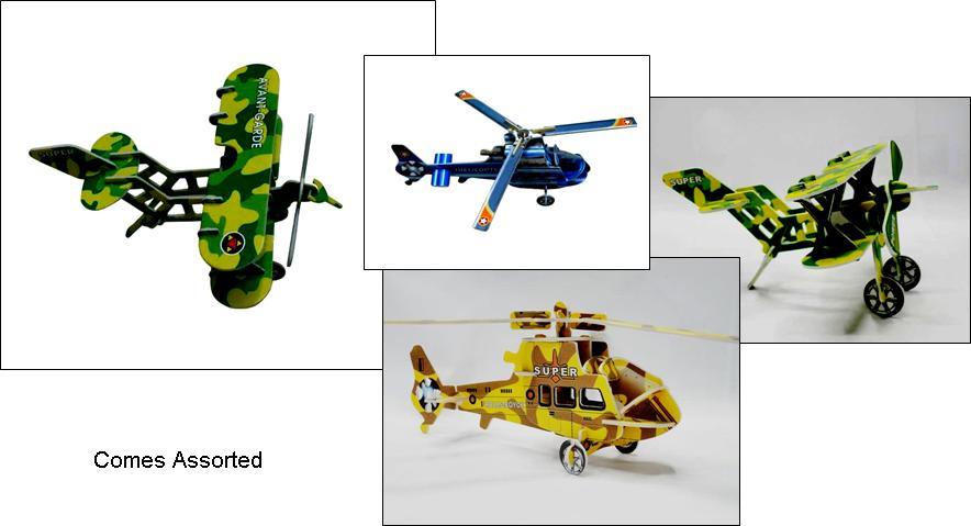 Under $2 : Plane & Helicopter 3D Models